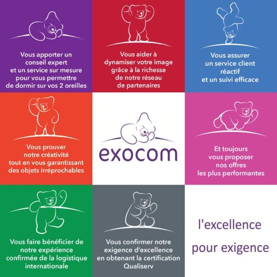 Les 7 engagements Exocom
