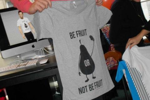Tee Shirt Be Fruit Oasis