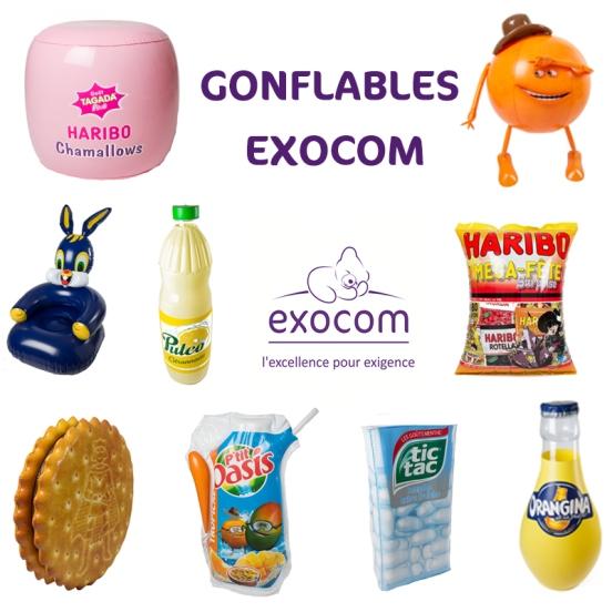 Gonflables Exocom
